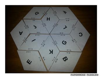 Multiplication Quilt 9 - Nines - PP