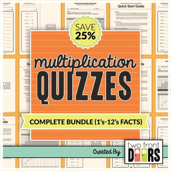 Multiplication Quiz (1's - 12's Facts)