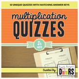 Multiplication Quiz (3's Facts)