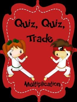 Multiplication Quiz, Quiz, Trade Review Game
