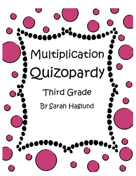 Multiplication Quizopardy