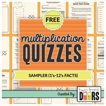 Multiplication Quizzes (1's-12's Facts)