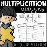 Multiplication Quizzes