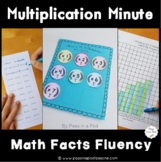 Multiplication Quizzes, Progress Monitoring, and Flash Cards for Fact Fluency