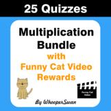 Multiplication Quiz with Funny Cat Video Rewards [Bundle]