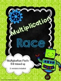 Multiplication Race Game