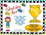 Multiplication Race Time Test Center