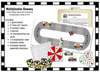 Multiplication Raceway