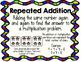 Multiplication: Repeated Addition, Arrays, Multiplication Properties