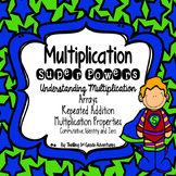 Multiplication: Repeated Addition, Arrays, Multiplication Properties