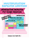 Multiplication Repeated Addition Interactive Practice Goog
