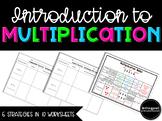 Multiplication Representation: Worksheets for 6 Multiplication Strategies