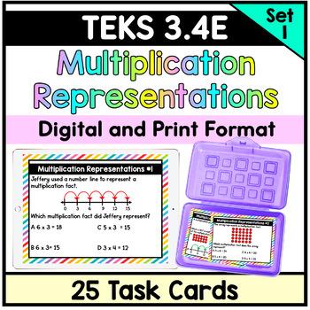 Multiplication Representations - TEKS 3.4E