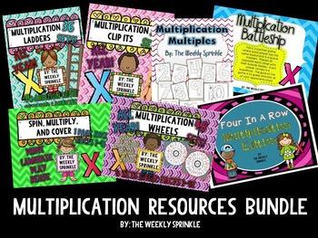 Multiplication Resources Bundle