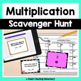 Multiplication Review-  A Scavenger Hunt