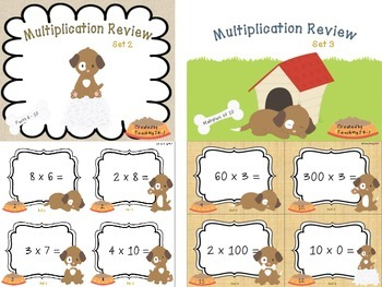 Multiplication Review Bundle