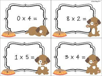 Multiplication Review (Freebie)