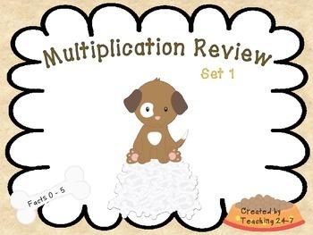 Multiplication Review (Freebie)