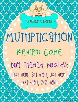 Multiplication Review Game