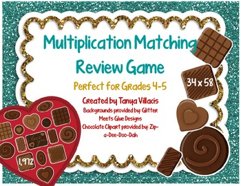 COMMON CORE ALIGNED 5.NBT.5 Multiplication Review Game for