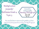 Multiplication Review Jeopardy EnVisions Topic 5