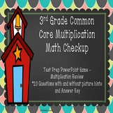 Multiplication Review 3rd Grade Multiplication One Step Word Problem PPT 3.OA.1
