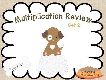 Multiplication Review Set 2
