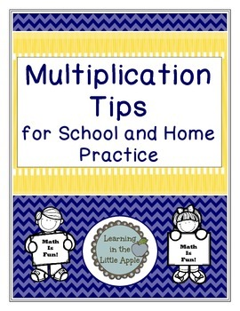 Multiplication Review Tips for School and Home Practice