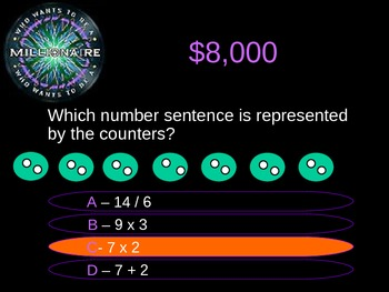 Multiplication Review - Who Wants to be a Millionaire!