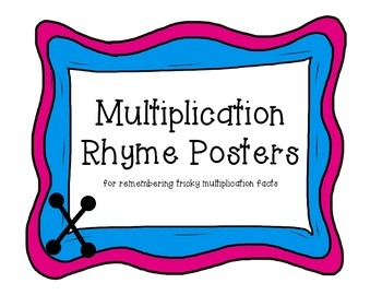Multiplication Rhyme Posters FULL