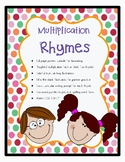 Multiplication Rhymes: 15 Toughest Facts to Memorize
