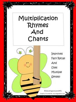 Multiplication Rhymes and Chants Part 2