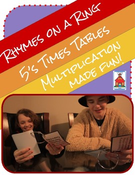 Multiplication Rhymes on a Ring 5s Fact Times Tables Fluency