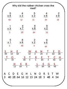 Multiplication Riddle