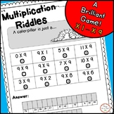 Multiplication Riddles for 3rd & 4th Grade