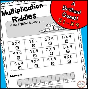Multiplication Riddles Teaching Resources Teachers Pay Teachers