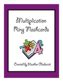 Multiplication Ring Flashcards