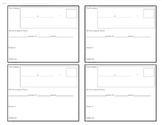 Multiplication Rocks Recording Sheet