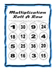 Multiplication Roll A Row 6