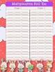Multiplication Roll 'Em Holiday Pack!