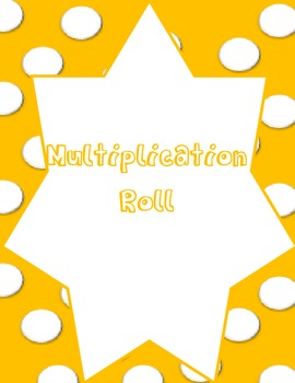 Multiplication Roll: Math Workstation