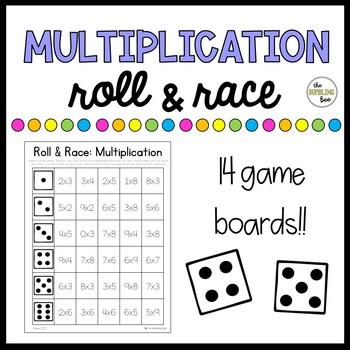 Multiplication Roll & Race