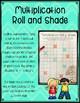 Multiplication Roll & Shade Fact Mastery Activity
