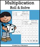 Multiplication: Roll & Solve
