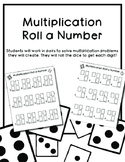Multiplication Roll a Number!