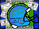 What's the Rule? Multiplication Rules Posters