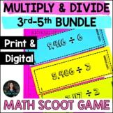 Multiplication SCOOT Bundle - Math SCOOT Games for Grades 3-5