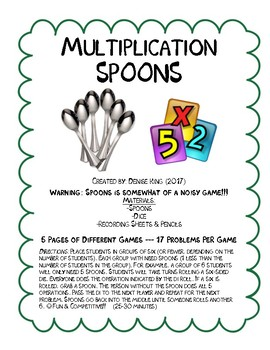 Multiplication SPOONS
