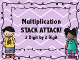 2 digit by 2 digit Multiplication STACK ATTACK