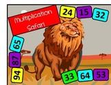 Multiplication Safari Board Game